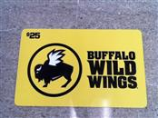 BUFFALO WILD WINGS Gift Cards GIFT CARD